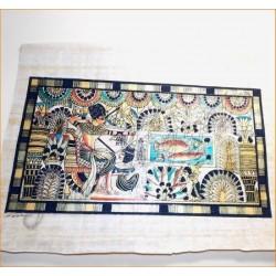 Papiro egipcio 40cmX35cm M5