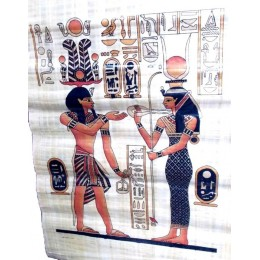 Papiros egipcios 90cmX60cm Lúxor1