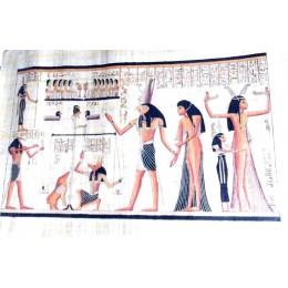 Papiros egipcios 90cmX60cm Lúxor5
