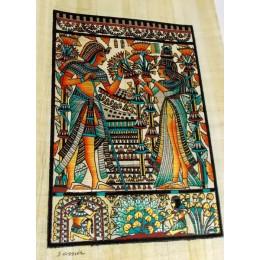 Papiro egipcio 30X25 Cairo1