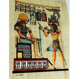 Papiro egipcio 30X25 Cairo2