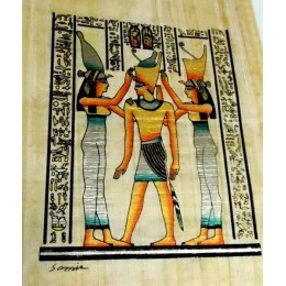 Papiro egipcio 30X25 Cairo3