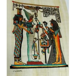 Papiro egipcio 30X25 Cairo4