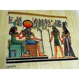 Papiro egipcio 30X25 Cairo5
