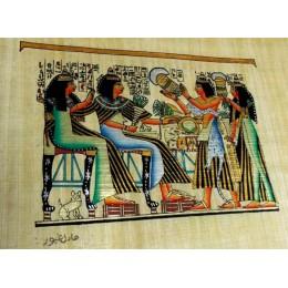 Papiro egipcio 30X25 Cairo6