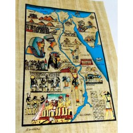 Papiro egipcio 30X25 Cairo7