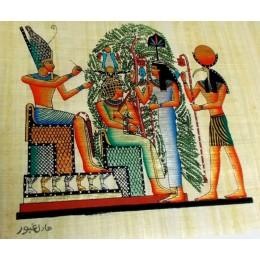 Papiro egipcio 30X25 Cairo8