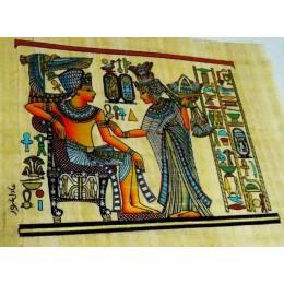 Papiro egipcio 30X25 Cairo10