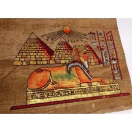 Papiro egipcio envejecido 30cmX25cm C1
