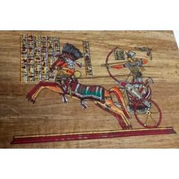Papiro egipcio envejecido 30cmX25cm C2