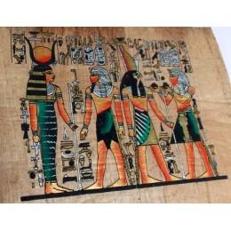 Papiro egipcio envejecido 30cmX25cm C3