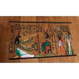 Papiro egipcio envejecido 30cmX25cm C4