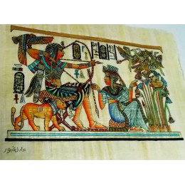 Papiro egipcio 30X25 Cairo12