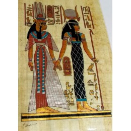 Papiro egipcio 30X25 Cairo13