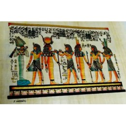 Papiro egipcio 30X25 Luxor11
