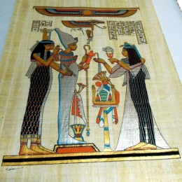 Papiro de Egipto 60cmX40cm M12