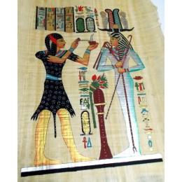 Papiro de Egipto 60cmX40cm M8