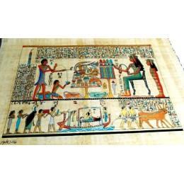 Papiro de Egipto 60cmX40cm M1