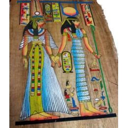 Papiro de Egipto envejecido 60cmX40cm A2