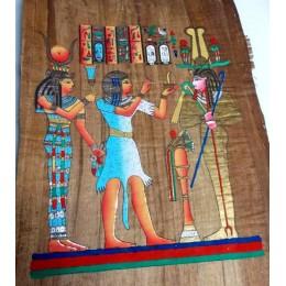 Papiro de Egipto envejecido 60cmX40cm A4