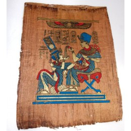 Papiro de Egipto envejecido 40X35 F2