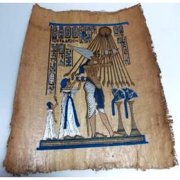 Papiro de Egipto envejecido 40X35 F3
