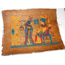 Papiro egipcio envejecido