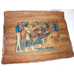 Papiro de Egipto envejecido 40X35 F5