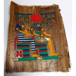 Papiro de Egipto envejecido 40X35 F6