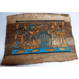 Papiro de Egipto envejecido 40X35 F8
