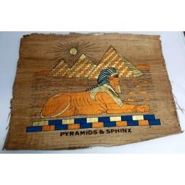 Papiro de Egipto envejecido 40X35 F10