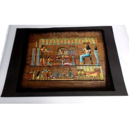 Papiro egipcio envejecido 40cmX35cm Luxor8