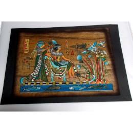 Papiro egipcio envejecido 40cmX35cm Luxor9