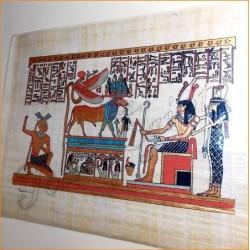 Papiro egipcio 40cmX35cm M35