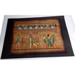 Papiro egipcio envejecido 40cmX35cm Luxor10