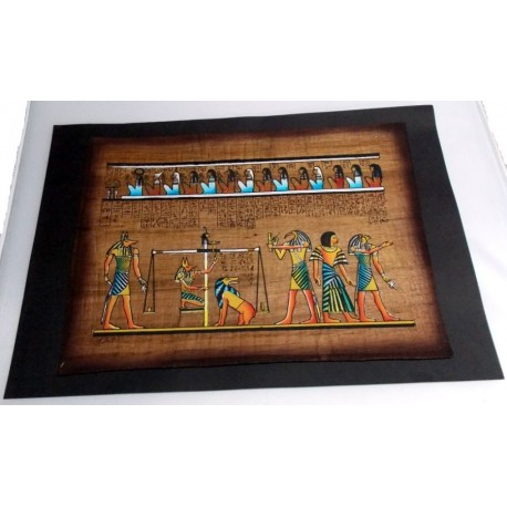 papiro envejecido