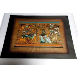 Papiro egipcio envejecido 40cmX35cm Luxor13