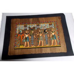 Papiro egipcio envejecido 40cmX35cm Luxor15