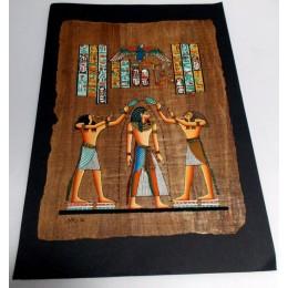 Papiro egipcio envejecido 40cmX35cm Luxor16