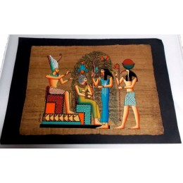 Papiro egipcio envejecido 40cmX35cm Luxor18