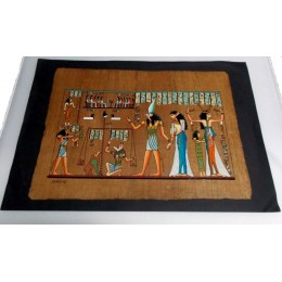 Papiro egipcio envejecido 40cmX35cm Luxor19
