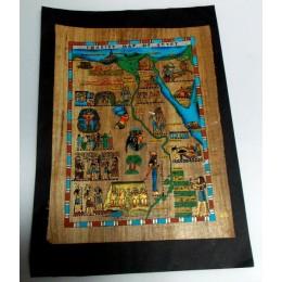Papiro egipcio envejecido 40cmX35cm Luxor20