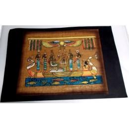 Papiro egipcio envejecido 40cmX35cm Luxor21