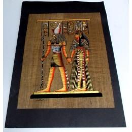 Papiro egipcio envejecido 40cmX35cm Luxor22