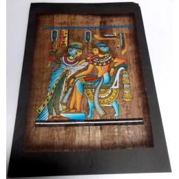 Papiro egipcio envejecido 40cmX35cm Luxor23