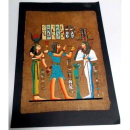 Papiro egipcio envejecido 40cmX35cm Luxor24