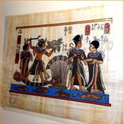 Papiro egipcio 40cmX35cm M15