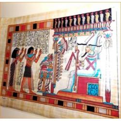 Papiro egipcio 40cmX35cm M17