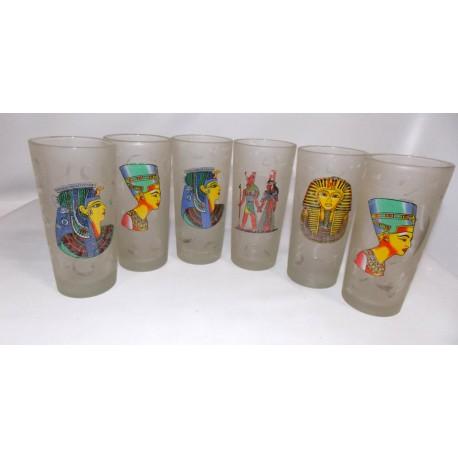 Copas de cristal pintado a mano
